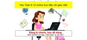 Học Toán online trực tiếp với giáo viên Điểm 10+