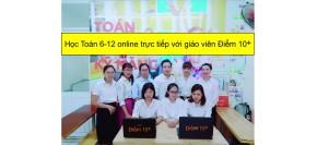 Chiêu sinh lớp Toán 6-7-8 online - Lịch khai giảng - Học phí