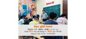 Khai giảng lớp Toán, Lý, Hoá, Anh học kì 1 năm 2020-2021