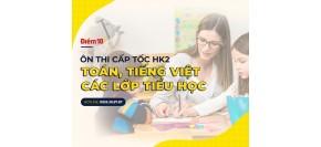 Ôn thi cấp tốc HK2 môn Toán - Tiếng Việt lớp 3