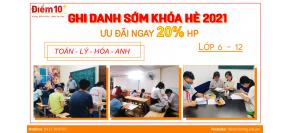 Trung tâm dạy thêm chất lượng - BDVH Điểm 10+
