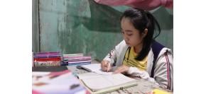 Nữ sinh vượt khó giành giải nhì quốc gia môn Văn