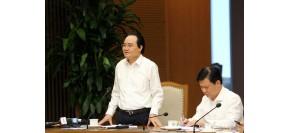 PTT Vũ Đức Đam chỉ đạo Bộ GD&ĐT tiếp thu ý kiến về sách Tiếng Việt lớp 1