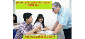 Trung Tâm Gia Sư Uy Tín Quận Phú Nhuận