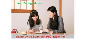 Trung Tâm Gia Sư Uy Tín Quận Tân Phú