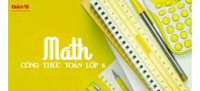 Tổng hợp kiến thức, công thức Toán lớp 6 Chương 3 Số học chi tiết phần 1