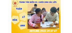 Chiêu Sinh Các Lớp Toán Lý Hóa Anh Tại Gò Vấp, Tân Phú