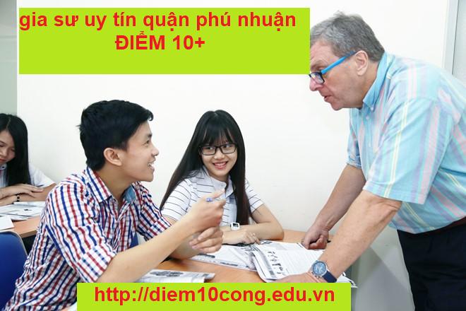 Gia sư uy tín quận Phú Nhuận - 199823